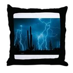 Sonoran Storm Throw Pillow