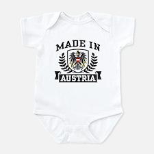 Made in Austria Onesie