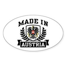 Made in Austria Decal
