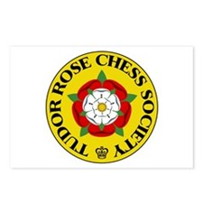 Tudor Rose Chess Society Postcards (Package of 8)