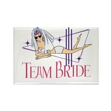 Beach Team Bride Rectangle Magnet