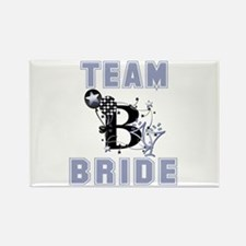 Celebrate Team Bride Rectangle Magnet