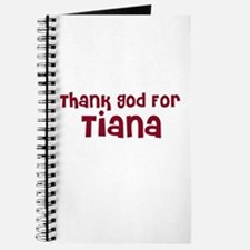 Thank God For Tiana Journal