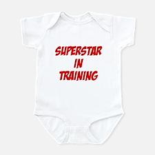 superstar in training Infant Bodysuit