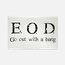E.O.D. 1 Rectangle Magnet
