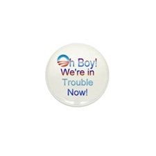 Unique Funny obama Mini Button (10 pack)