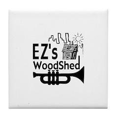 EZ's Woodshed Tile Coaster