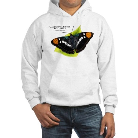 California Sister Butterfly Hooded Sweatshirt