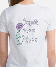 """Abbie Waz Here"" Women's T-Shirt"