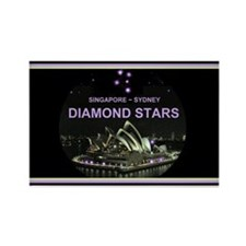 DIAMOND STARS - Rectangle Magnet