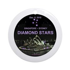 DIAMOND STARS - Ornament (Round)