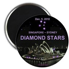 "DIAMOND STARS - 2.25"" Magnet (100 pack)"