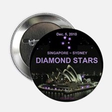 """DIAMOND STARS - 2.25"""" Button"""