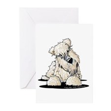 Curious Wheaten Terrier Greeting Cards (Pk of 10)