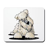 Wheaten terrier Mouse Pads