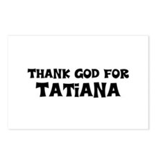 Thank God For Tatiana Postcards (Package of 8)