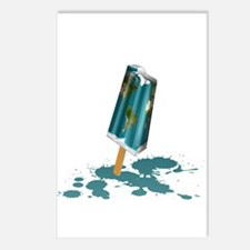 Earth Popsicle Postcards (Package of 8)