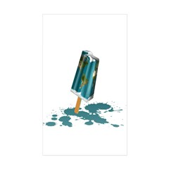 Earth Popsicle Decal
