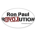 Ron Paul- Sticker (Oval 50 pk)