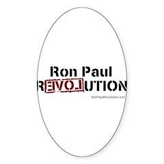 Ron Paul- Sticker (Oval)
