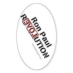 Ron Paul Sticker (Oval 10 pk)