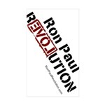 Ron Paul Sticker (Rectangle 10 pk)