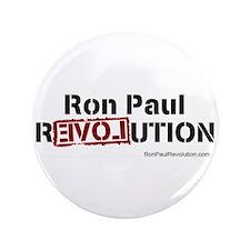 """Ron Paul- 3.5"""" Button"""