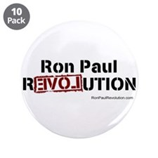 "Ron Paul- 3.5"" Button (10 pack)"