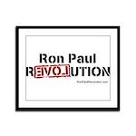 Ron Paul- Framed Panel Print