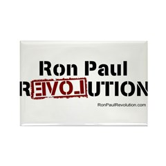 Ron Paul- Rectangle Magnet