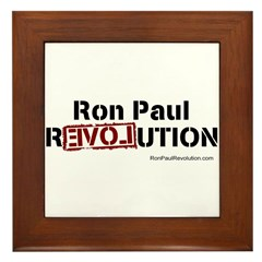 Ron Paul- Framed Tile