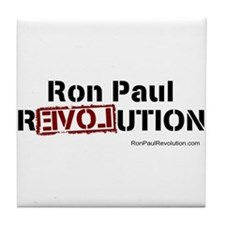 Ron Paul- Tile Coaster