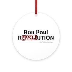 Ron Paul- Pendant/ Ornament (Round)