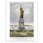 Statue of Liberty-1885 Small Poster