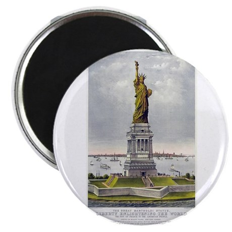 Statue of Liberty-1885 Magnet
