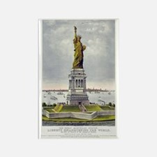 Statue of Liberty-1885 Rectangle Magnet