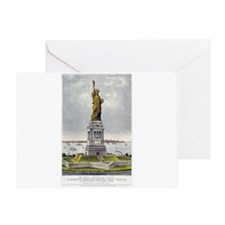 Statue of Liberty-1885 Greeting Card
