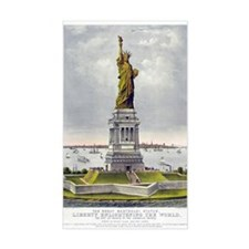 Statue of Liberty-1885 Decal