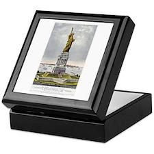 Statue of Liberty-1885 Keepsake Box