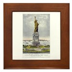 Statue of Liberty-1885 Framed Tile