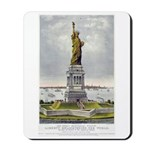 Statue of Liberty-1885 Mousepad