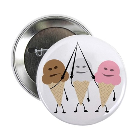 """Neapolitan Musketeers 2.25"""" Button (100 pack)"""