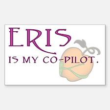Eris Is My Co-Pilot Rectangle Decal