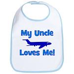 My Uncle Loves Me! PLANE Bib