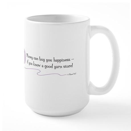 """A Good Yarn Store"" - Large Mug"