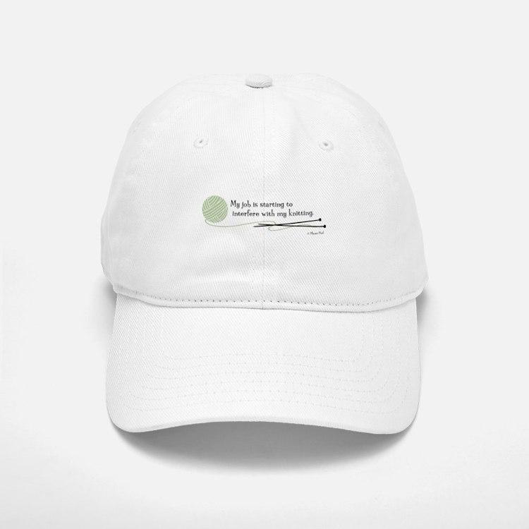 """""""My Job"""" - Baseball Baseball Cap"""