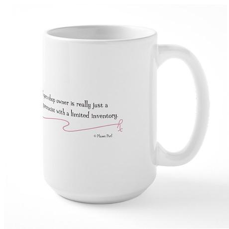 """A Yarn Shop Owner"" - Large Mug"