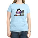 I love crafting penguin Women's Light T-Shirt