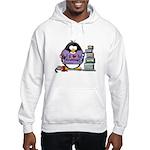 I love crafting penguin Hooded Sweatshirt