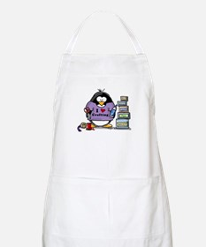 I love crafting penguin Apron